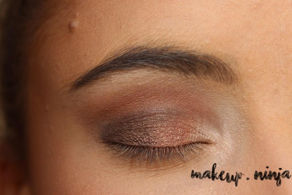 Neutral Smokey Eye Look with Orange Eyeshadow - Step 6