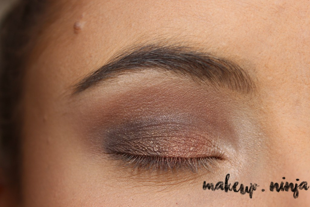 Neutral Smokey Eye Look with Orange Eyeshadow - Step 7