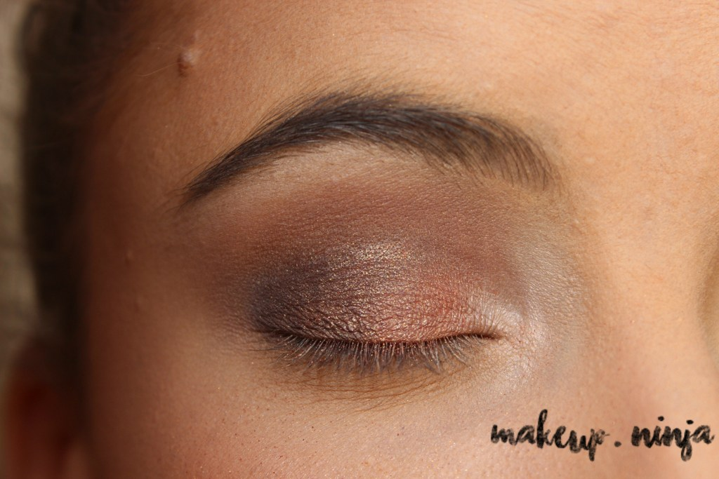 Neutral Smokey Eye Look with Orange Eyeshadow - Step 8