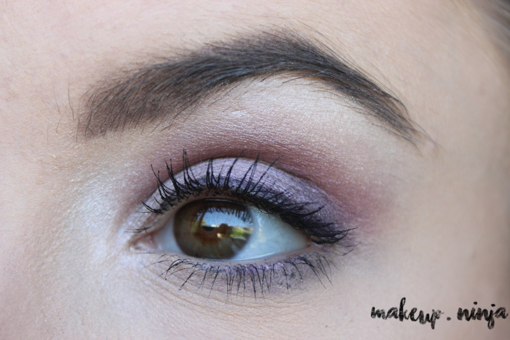 step 10 - Lilac Eyeshadow Tutorial for Spring