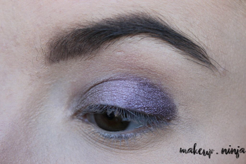 step 5 - Lilac Eyeshadow Tutorial for Spring