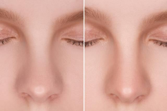 Прически для лица с большим носом