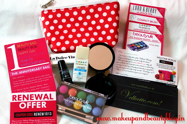 My September 2013 Vellvette Box