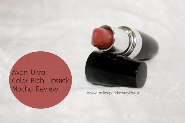 AVON Ultra Rich Lipstick Mocha review