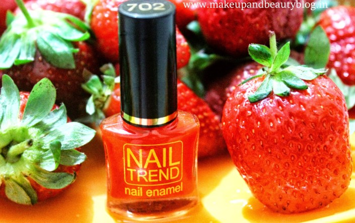 Nail Trend Nail Enamel by Reliance in shade 702: Review and NOTD