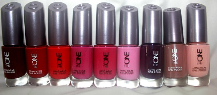 Oriflame The One Long Wear Nail Polish Review