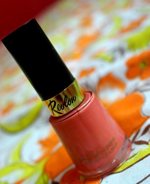 Revlon Nail Enamel Really Rosy 110: Review & NOTD