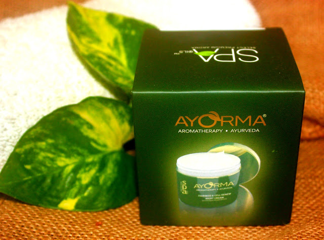 Ayorma Fairness & Cell Renew Night Cream Review