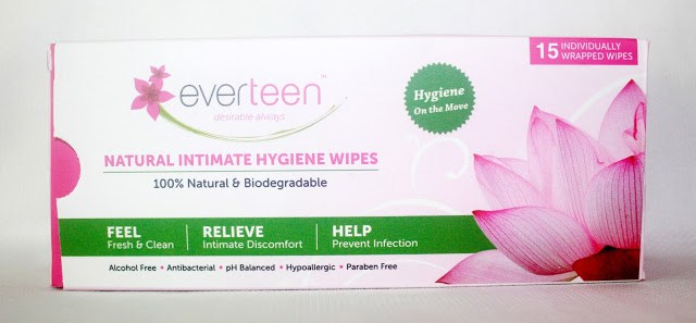 Everteen Natural Intimate Hygiene Wipes