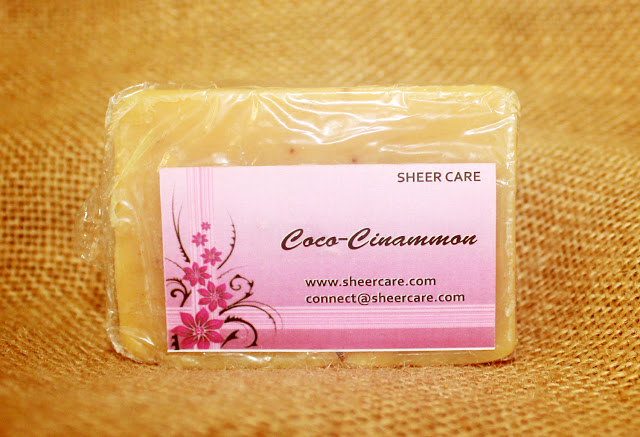 Sheer Care Cocoa Cinnamon Soap Review
