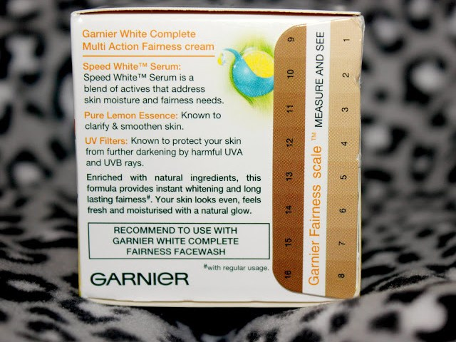 Garnier White Complete Multi Action Fairness Cream Review