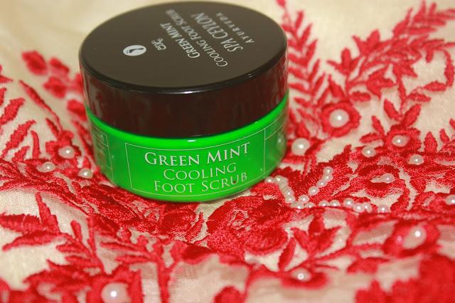 Spa Ceylon Ayurveda Green Mint Cooling Foot Scrub Review