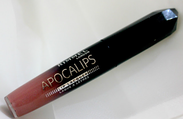 Rimmel London Apocalips Lip Lacquer (101 celestial)  Review & Swatch
