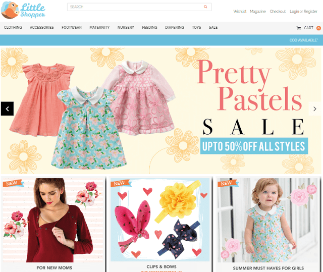 The Little Shopper – Website Review