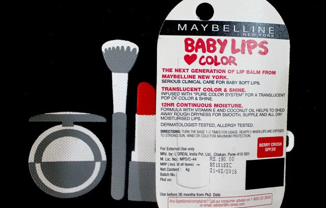 Maybelline Baby Lips Berry Crush Lip Balm