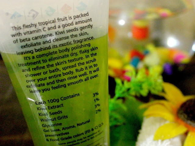 The Nature's Co Kiwi Exfoliating Body Wash Review