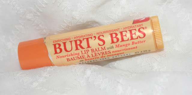Burts Bee Nourishing Lip Balm with Mango Butter Review