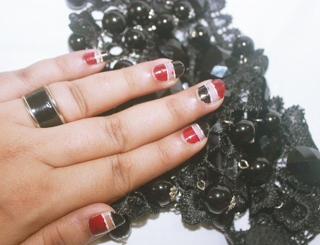 Negative Space And Blank Nail Art Trend