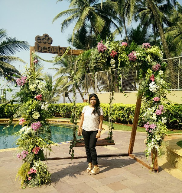Event Oriflame EcoBeauty EcoBrunch with Mumbai Bloggers