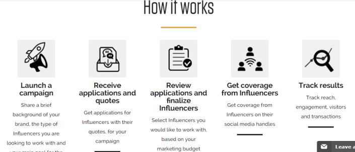 Influencer.in The Best Influencer Marketing Platform In India