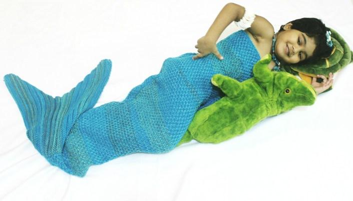 Mermaid Tail Blanket Baby OOTD Ft. Zaful