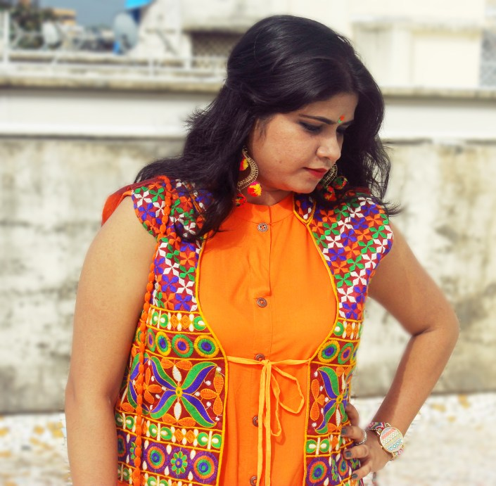 India Independence Day Ethnic Tri Color OOTD