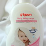 Pigeon Baby Milky Lotion Review