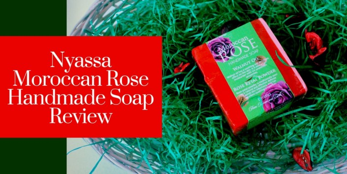 Nyassa Moroccan Rose Handmade Soap Review