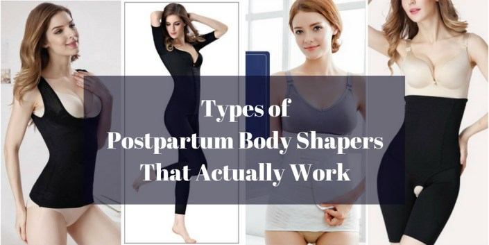 Types of Postpartum Body Shapers That Actually Work