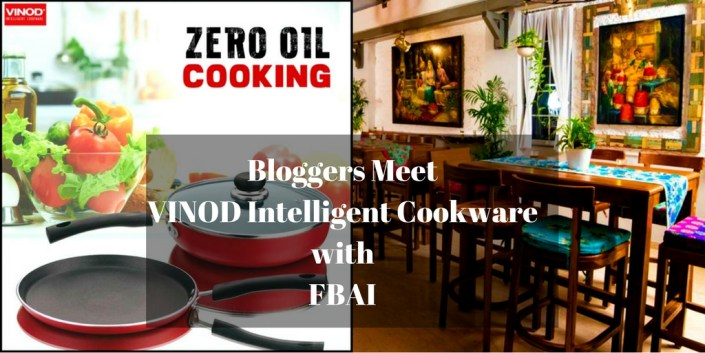 Bloggers Meet: VINOD Intelligent Cookware with FBAI
