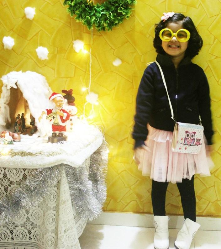 Toddler Girl Winter OOTD + Retro Twist