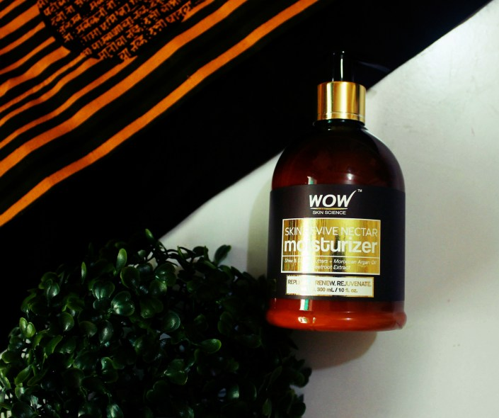 Wow Skin Revive Nectar Moisturiser Review