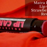 Matra Holistic Lip Care Strawberry Salve Review