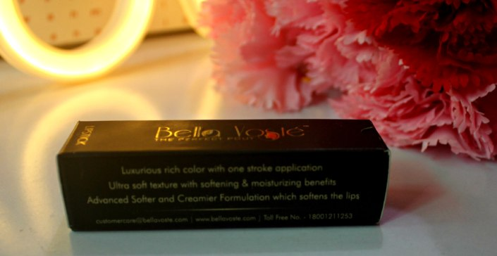 Bella Voste Satin Touch Lipstick Mocha Magic 24 Review, Swatch & LOTD