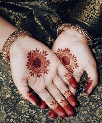 e328c1425 11 Simple, Quick & Latest Mehendi Design Images - Makeup Review And ...