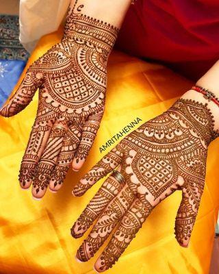 mehndi designs for teej easy