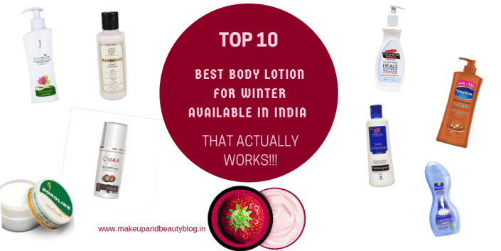 Top 10 Best Body Lotion for Winter Available In India That Actually Works!