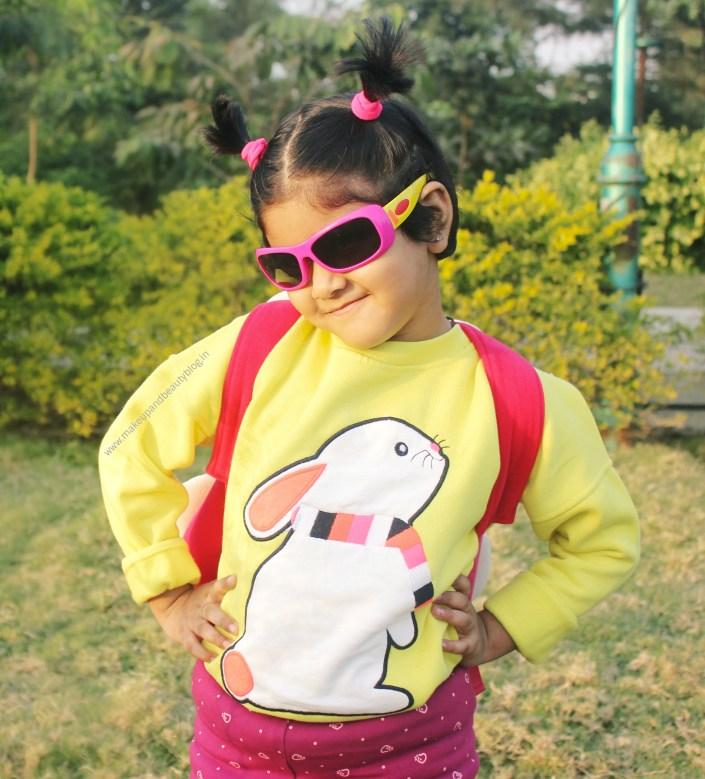 Toddler OOTD – Yellow Bunny Sweatshirt x Cherry Crumble