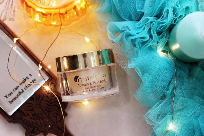 Nutrispa Tomato & Pine Bark Anti Blemishes Night Repair Creme Review