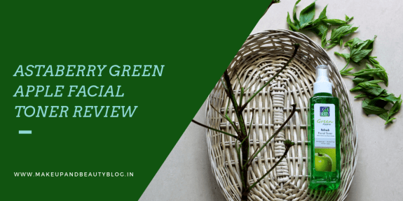 Astaberry Green Apple Facial Toner Review