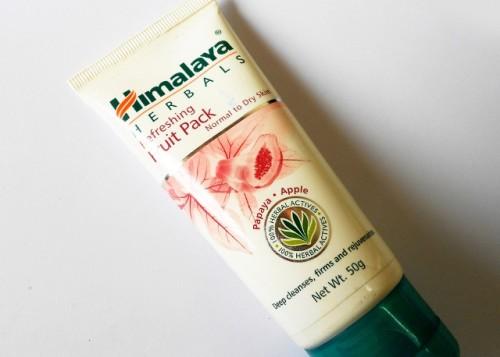 Himalaya-Herbals-Refreshing-Fruit-Pack-Review