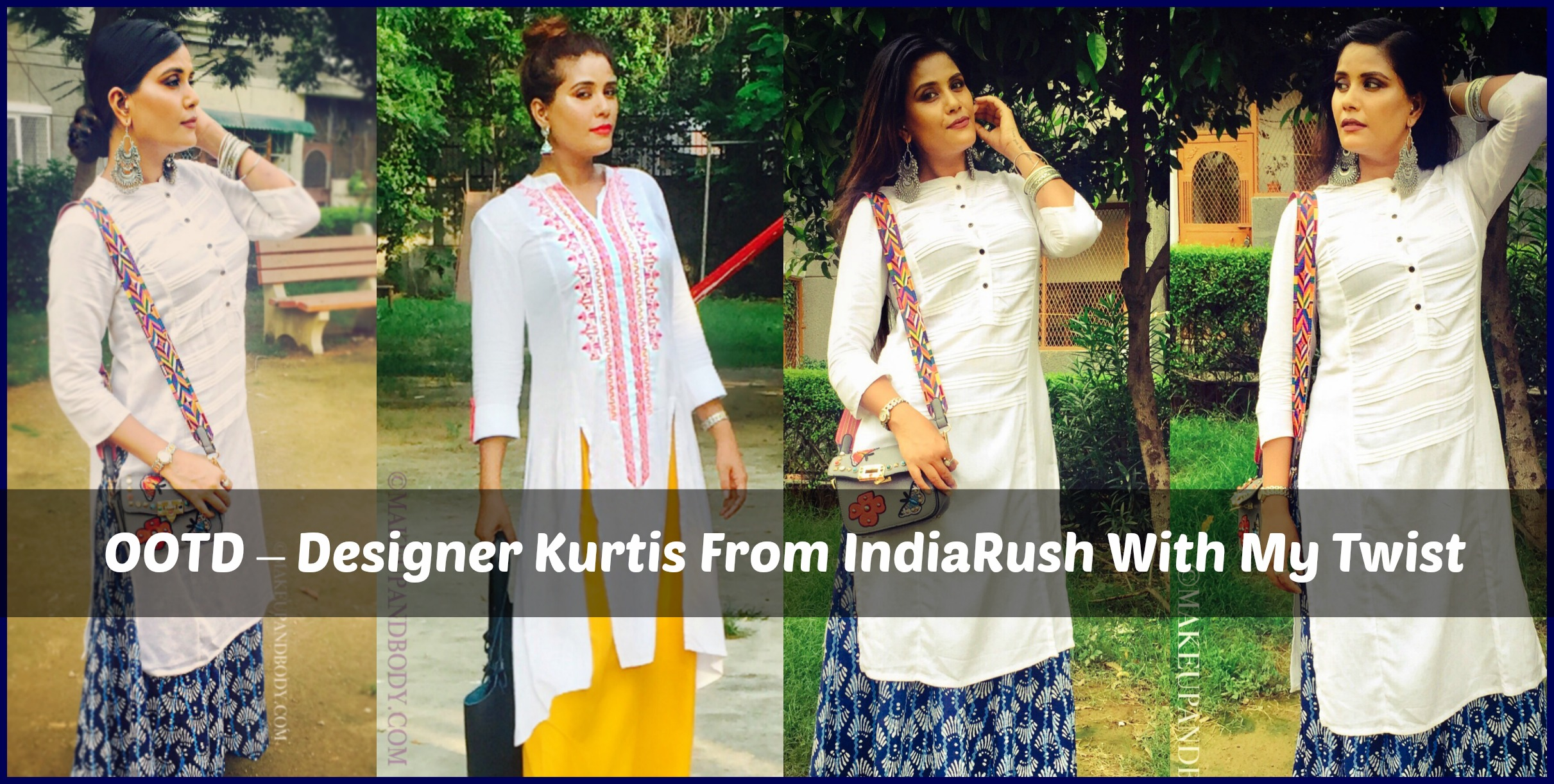 Designer Kurtis From IndiaRush With My Twist