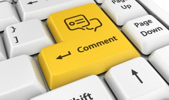 blog comment, blogging, art of commenting, great comment, blog conversing