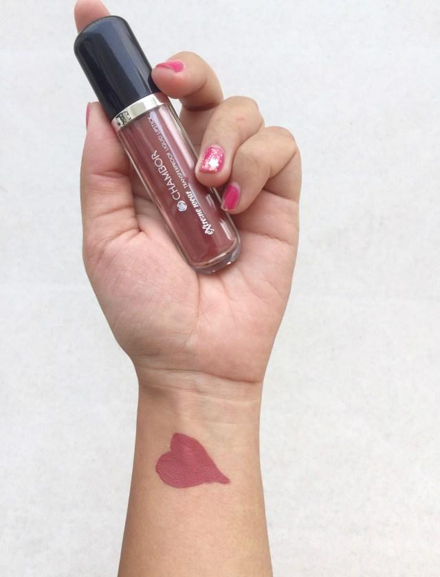 Chambor Extreme Wear Liquid Lipstick