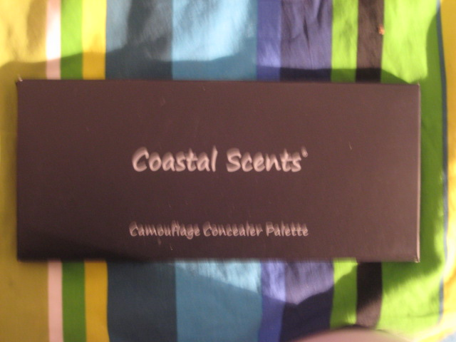 Coastal Scents Haul - Camouflage Palette & Brushes | Makeup