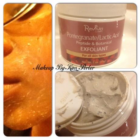 at-home spa facial Reviva Labs Pomegranate/Lactic Acid Exfoliant