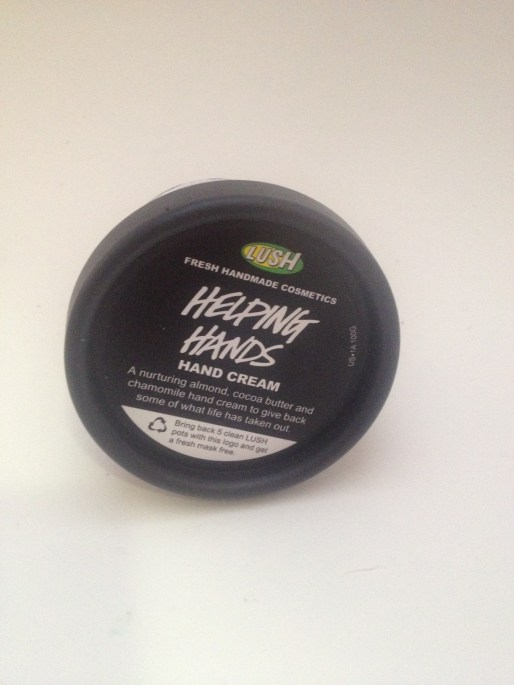 LUSH Cosmetics Helping Hands Cream