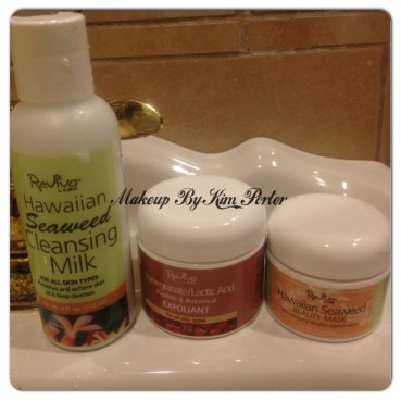 at-home spa facial reviva labs skincare