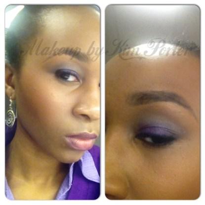 Tutorial Tuesday Purple Grey Smoky Eye