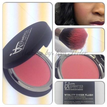 IT Cosmetics Vitality Cheek Flush Matte Sweet Apple